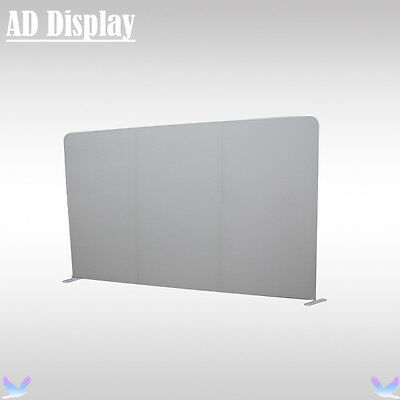 13ft*8ft Exhibition Advertising Easy Fabric Display Stand With White Banner