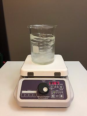 "Barnstead Thermolyne Magnetic Stirrer Super Nuova Digital S133935 7"" x 7"""