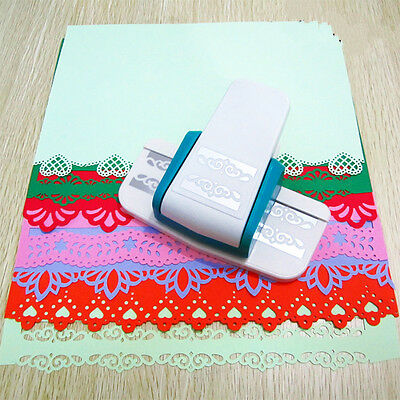 Large Paper Border Punch Embossing Cutter for Card Marking Scrapbooking Crafts