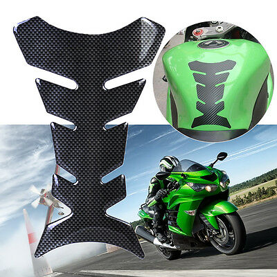 Universal Motorcycle Resin Gas Oil Fuel Tank Fish Bone Protector Decal Sticker