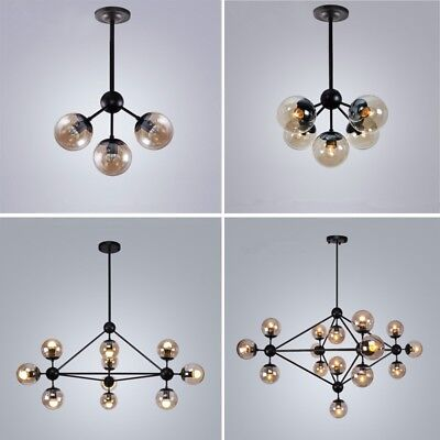 Kitchen Chandelier Lighting Glass Pendant Light Modern Ceiling Lights Large Lamp