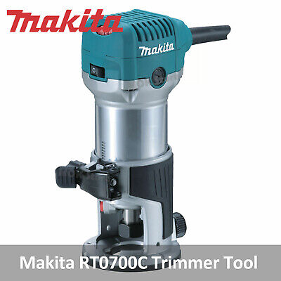 """Makita RT0700C 6.35mm 1/4"""" Trimmer 220V 710W Router Tool"""