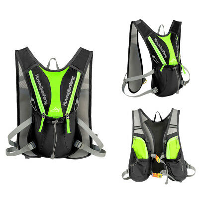 Vest Hydration Backpack Packs Fits Holding 1.5L Water Bladder Hiking Cycling