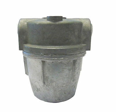 """Heating Oil Filter / Water Separator 1/4"""" Metal Bowl SW4-36M (W-4 Compatible)"""