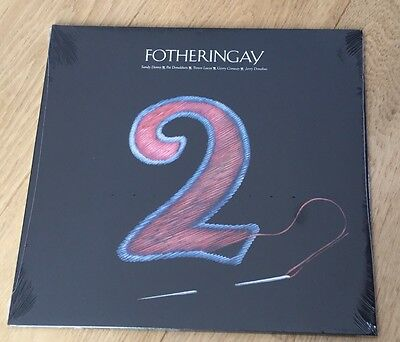 SEALED NEW FOTHERINGAY 2 LP Sandy Denny Mint Stamford Audio SS Shrink OOP