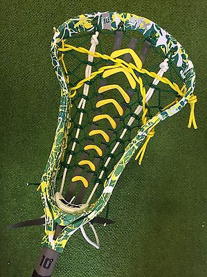 New STX Crux i Women's Lacrosse Stick - Dyed With Yellow Launch Pocket