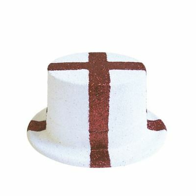 Pride Passion England Glitter Top Hat St George Sport Street Party Favour