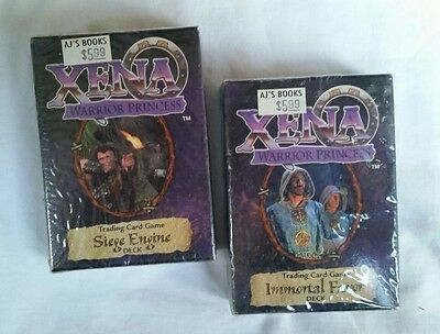 Xena warrior princess Siege Engine & Immortal Favor Decks