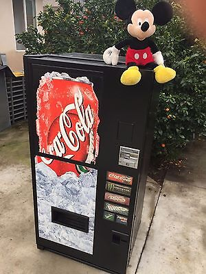 Cold Drink -Coke- Soda Can-Vending Machine- Mini Size