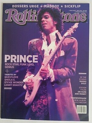 PRINCE Rolling Stone INDIA Magazine SPECIAL TRIBUTE ISSUE  17 page feature