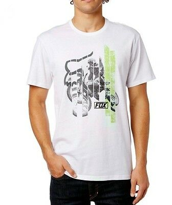 Fox T-Shirt  Getting Even Ss Tee White 2017 Tg S