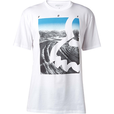 Fox T-Shirt Eyecon Photo Ss Tee White 2017 Tg S