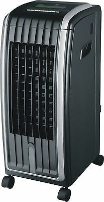 Daewoo Black Portable 6.5L 4-in-1 Heater, Air Purifier & Air Con Cooler Fan Unit