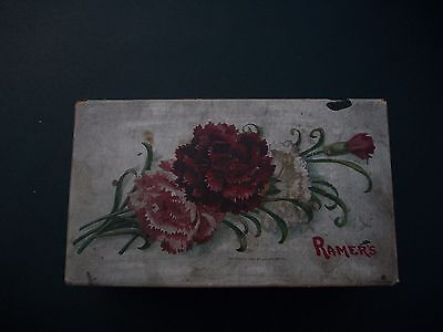 Antique Decorative Empty Candy Box A.M. Ramers Co. 1907