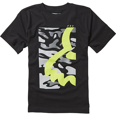 Fox T-Shirt Youth Eyecon Box Ss Tee Black 2017 Tg M