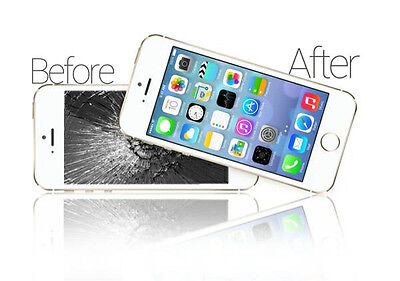 Apple iPhone 5 5S 5C Repair Service (LCD Cracked/Broken Glass Digitizer Screen )