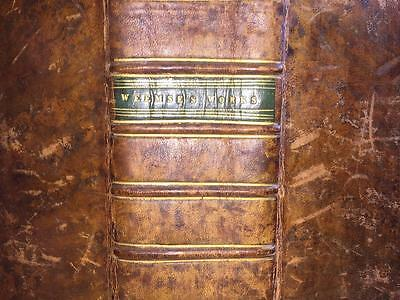 1636  Workes of John Weemse. Vol 1 & 2 Bound Together. BINDING. Theology.