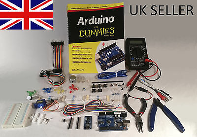 Arduino for Dummies starter kit: Book, Uno, Multimeter, Tools and much more