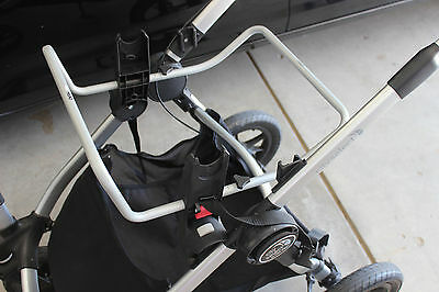 Baby Jogger Car Seat Adaptor for City Select Singer Double Stroller Chicco