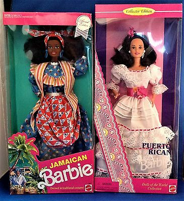 Barbie Dolls of the World-The Islands! (Puerto Rico and Jamaica)