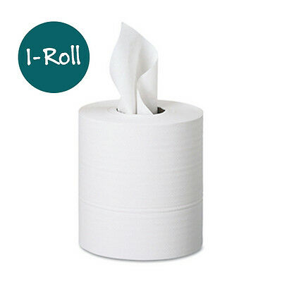 "Center Pull Paper Towel Roll 2-Ply 8"" x 660 ft White 1-Roll"