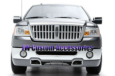 06-08 Lincoln Mark LT 3dCarbon Urethane Front Bumper Lower Air Dam Valance NEW
