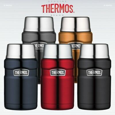 Thermos Stainless King Stainless Steel Vacuum Insulated Food Flask 0.71L