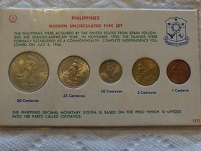 1964 Philippines uncirculated type (Mint?) Set