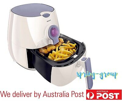 Large Air Fryer 2.2L Philips Electric Healthy Cooker Chips Low Fat Oil Temp Time