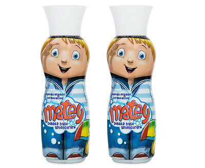 2 x Matey Max Bubble Bath 500mL