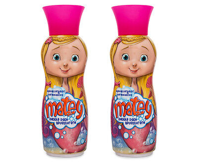 2 x Matey Molly Bubble Bath 500mL