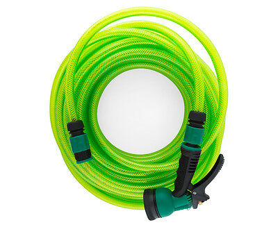 Barfell 20m Fitted Garden Hose - Green