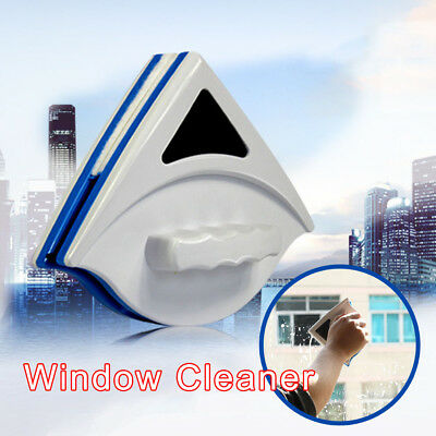 Home Double Side Magnetic Brush Cleaner Window Glass Cleaning Tool Wiper Surface