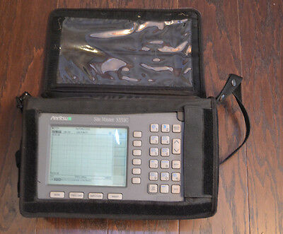Anritsu S331C Site Master Cable and Antenna Analyzer, 25 MHz - 4 GHz