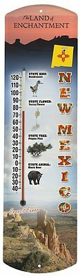 Heritage America by MORCO 375NM New Mexico Outdoor or Indoor Thermometer,
