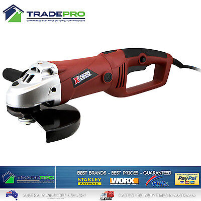 Angle Grinder 230mm Xceed® 2000W Quality Electric Soft Start with Dual Handle