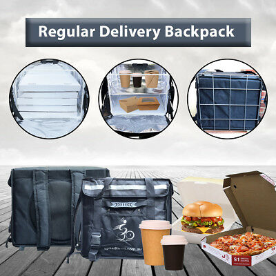 Large Premium Delivery Food Box - With Divider (For Drinks)