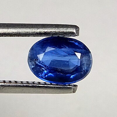 TOP ROYAL BLUE KYANITE : 1,05 Ct Natürlicher Blau kyanit / Disthene , Rhaeticite