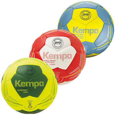 Kempa SPECTRUM SYNERGY PRO Handball Top Spielball rot/weiß 200188002