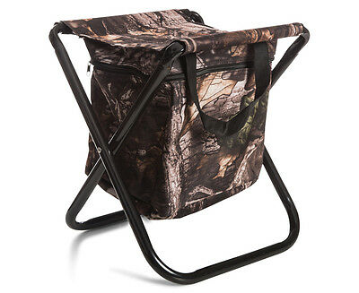Caribee Fold Up Stool w/ Cooler - Camo