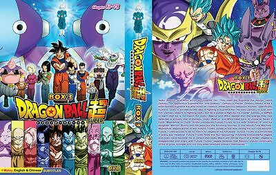 Dragon Ball Super (Episode 53 - 78) ~ 2-DVD SET ~ English Subtitle ~ Japan Anime