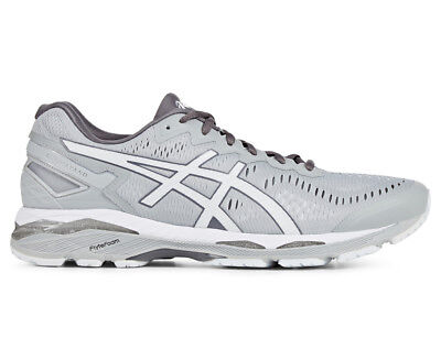 ASICS Men's GEL-Kayano 23 Shoe - Midgrey/White/Carbon