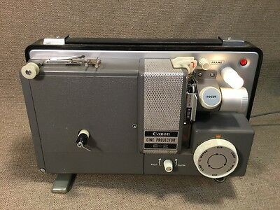 """Vintage Canon S-2 Cine Movie Projector 8mm  """"Works"""""""