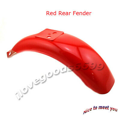 Red Rear Fender For Honda Z50 Z50A Z50J Z110 Z125 Monkey Gorilla Bikes