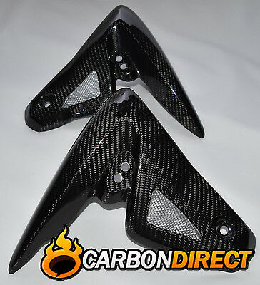 Triumph Speed Triple 1050 2009-2010 100% Carbon Fibre Radiator Spoilers / Covers