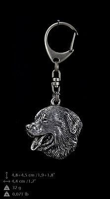 Bernese Mountain Dog 2, silver covered keyring, high qauality keychain Art Dog