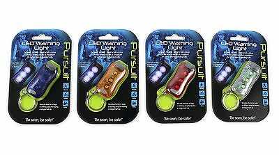 LED safety clip-on light  pet collar tag  school bag safety light Cycling
