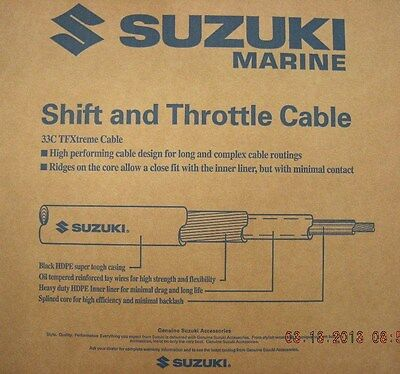 Suzuki Outboard Parts 12FT 33C TFXtreme Performance Remote Control Cable