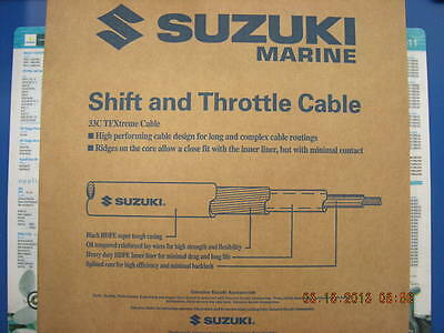 Suzuki Outboard Parts 22 FT 33C TFXtreme Performance Remote Control Cable