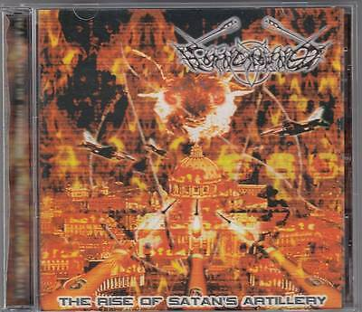 Horncrowned - The Rise Of Satan`s Artillery (CD 2003/4) Black/Death !!!